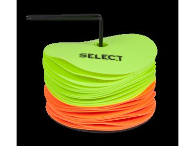 SELECT FLOOR MARKET SET 24 цветные резиновые фишки 24 шт.